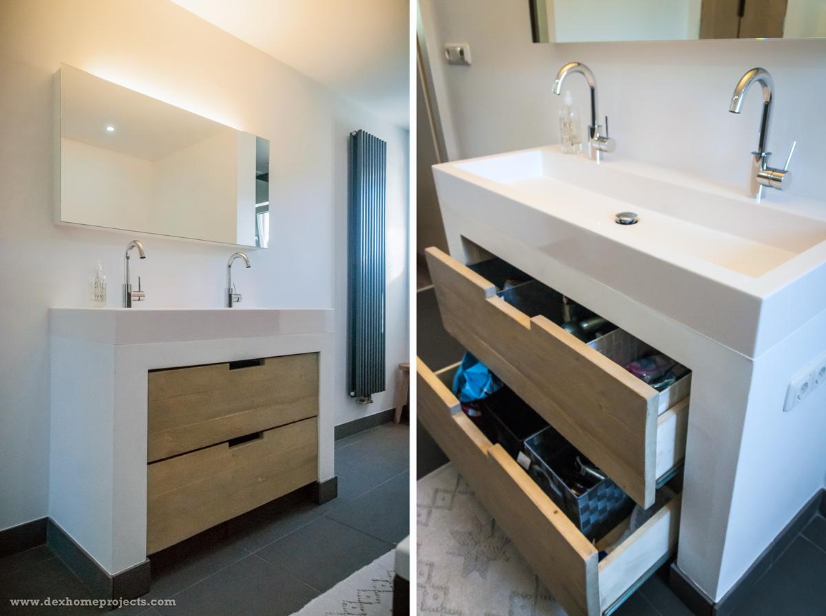 Stukadoor tilburg dex home projects 06 25013707 - Foto badkamer meubels ...